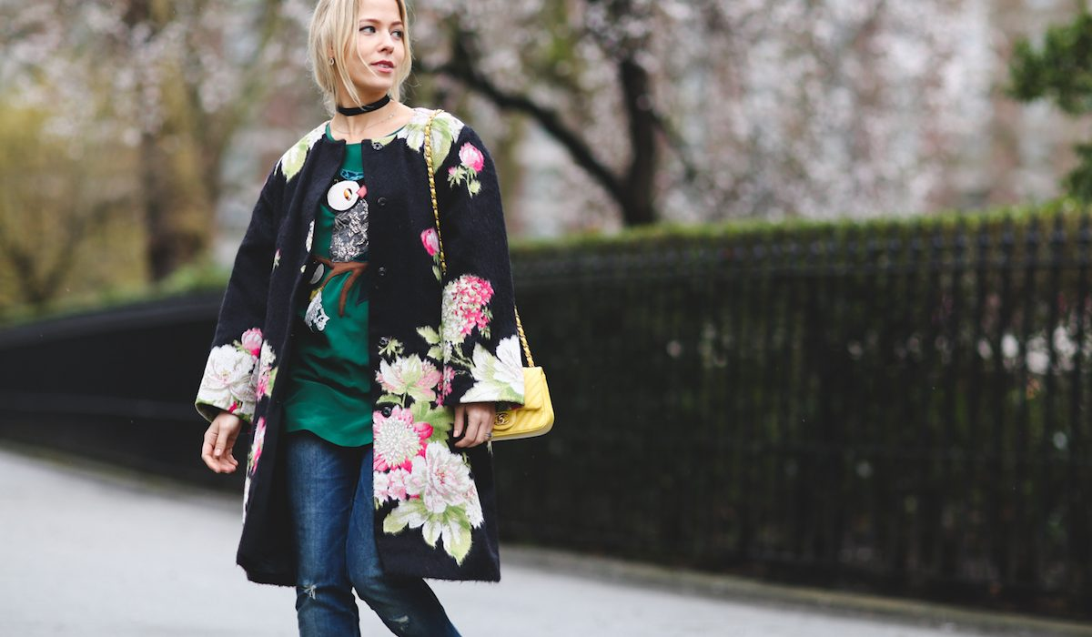 Lasting strong presence: floral prints
