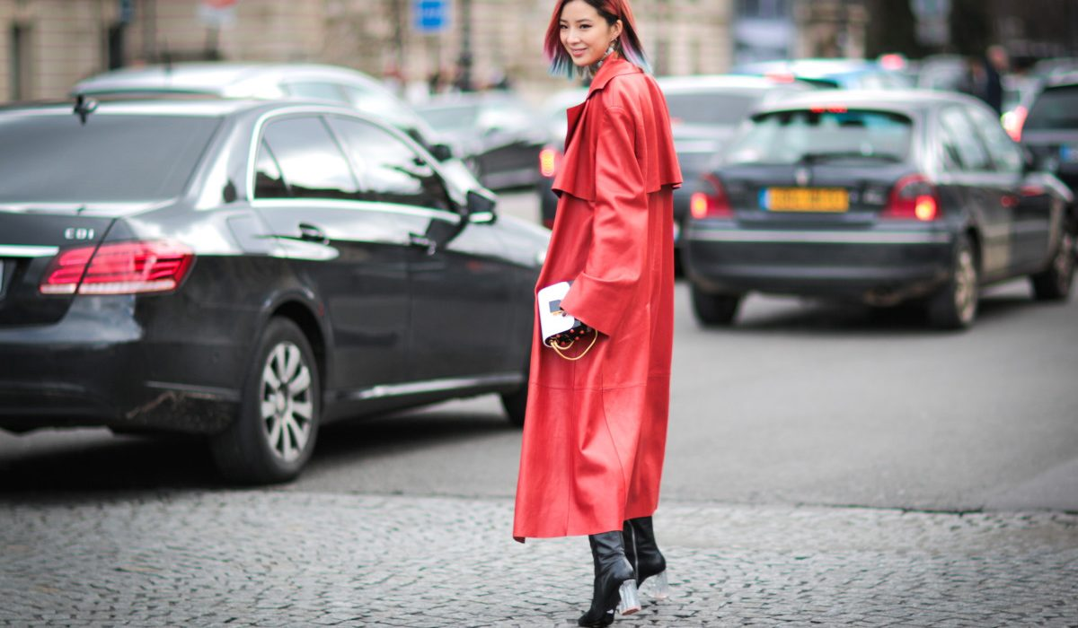 How to wear red this winter