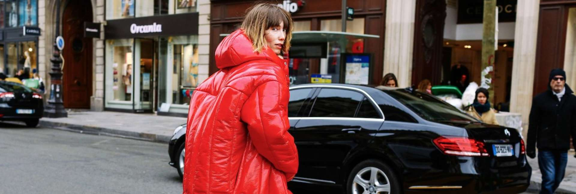 How to wear a down jacket with style