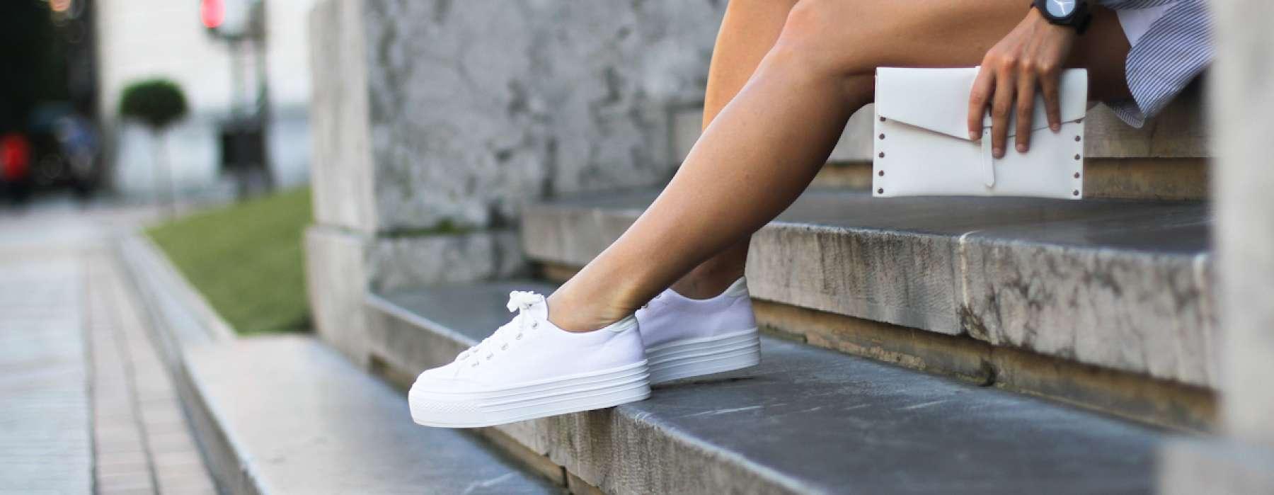 The best ways to style sporty footwear