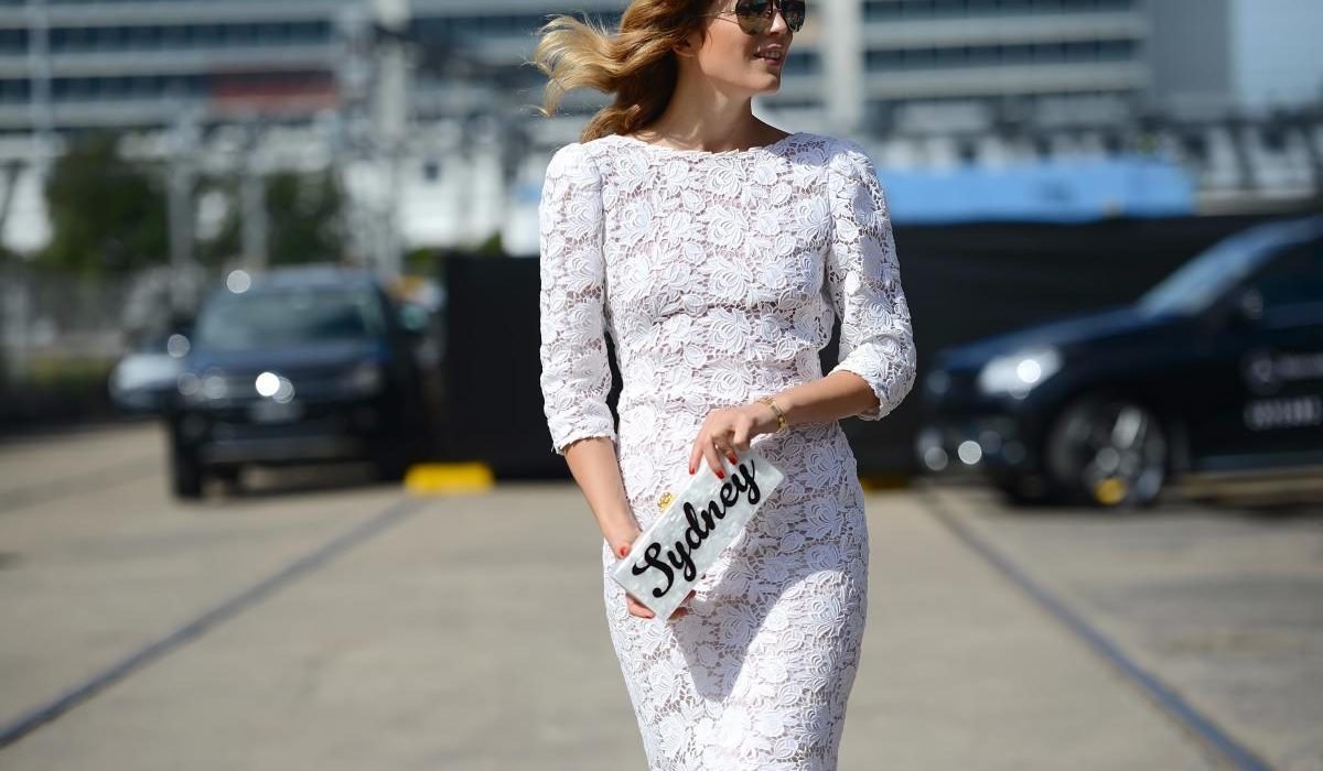 Knitted lace pieces trend