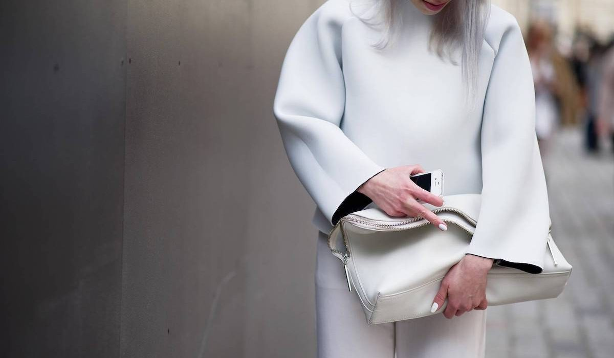 How to wear everything all white