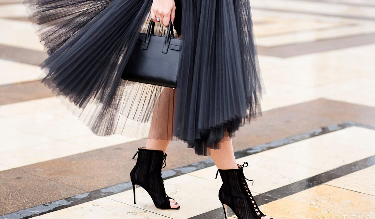 Back in style: tulle