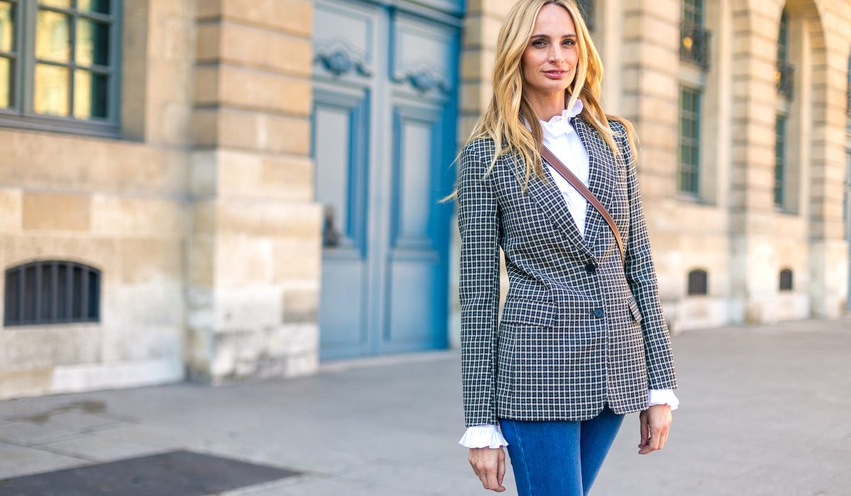 Trend of the moment: plaid blazer