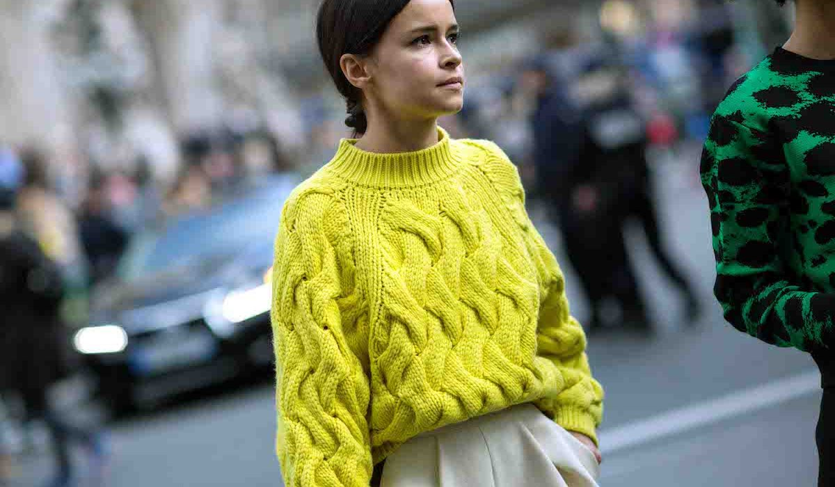 Opt for colorful winter sweaters