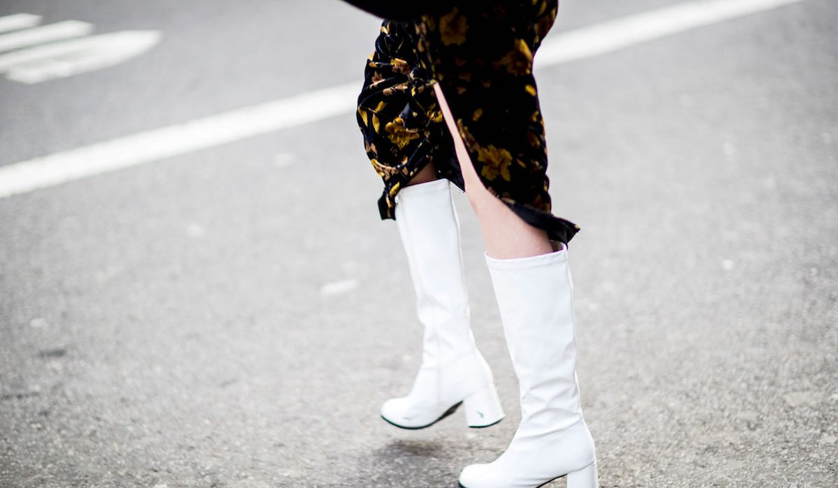 White boots to complete your style
