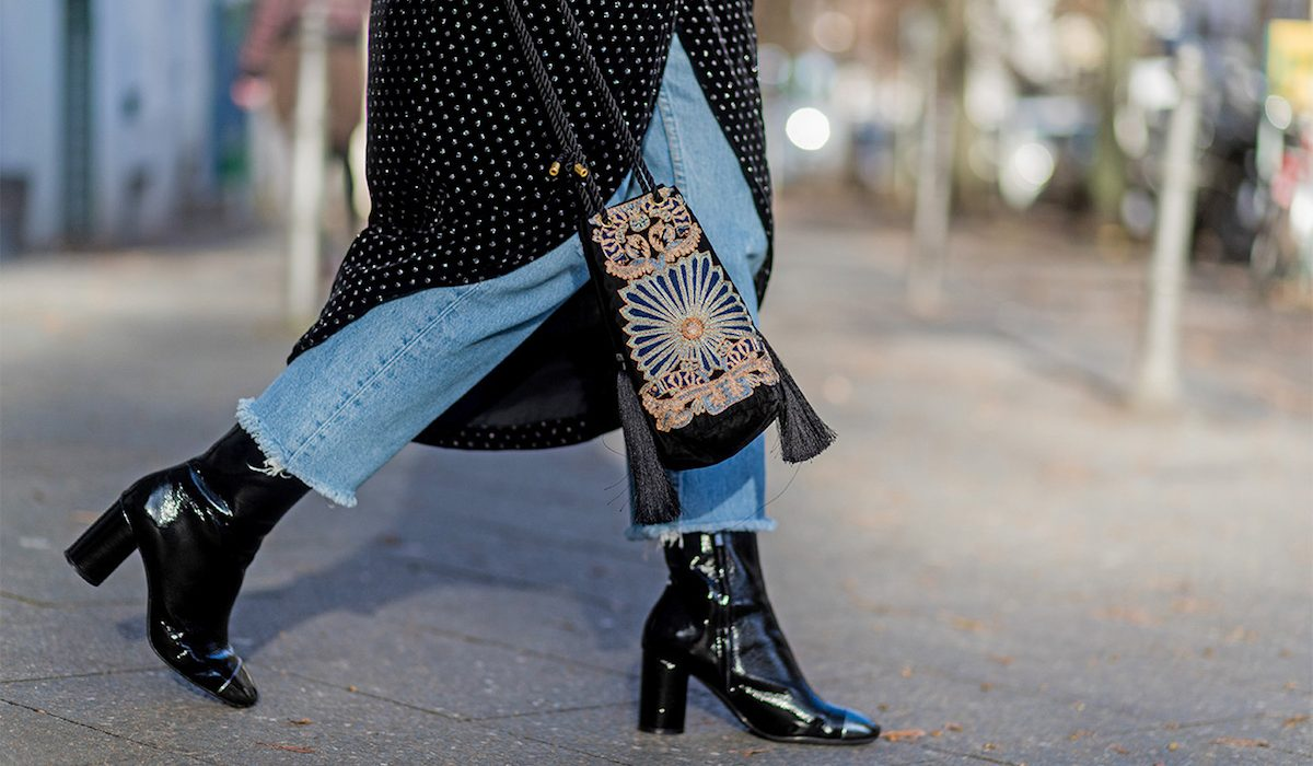 How to ankle wear boots winter