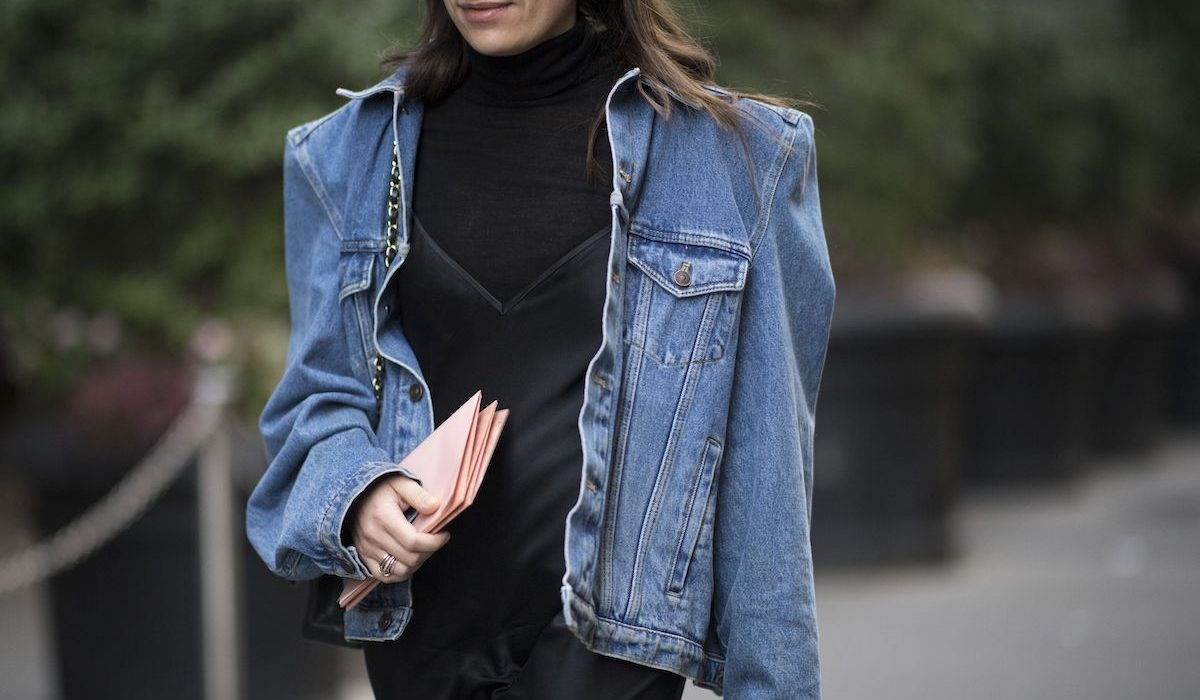 Denim jacket: now and in springtime