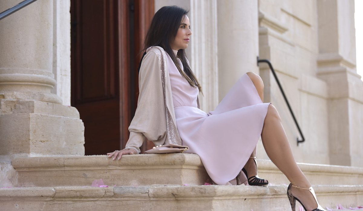 Style of the day: the pink dress with the bow