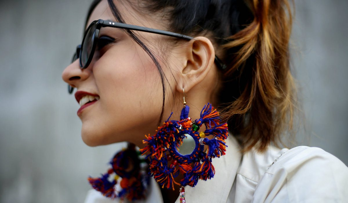 Icing on the cake with pom pon and tassel earrings
