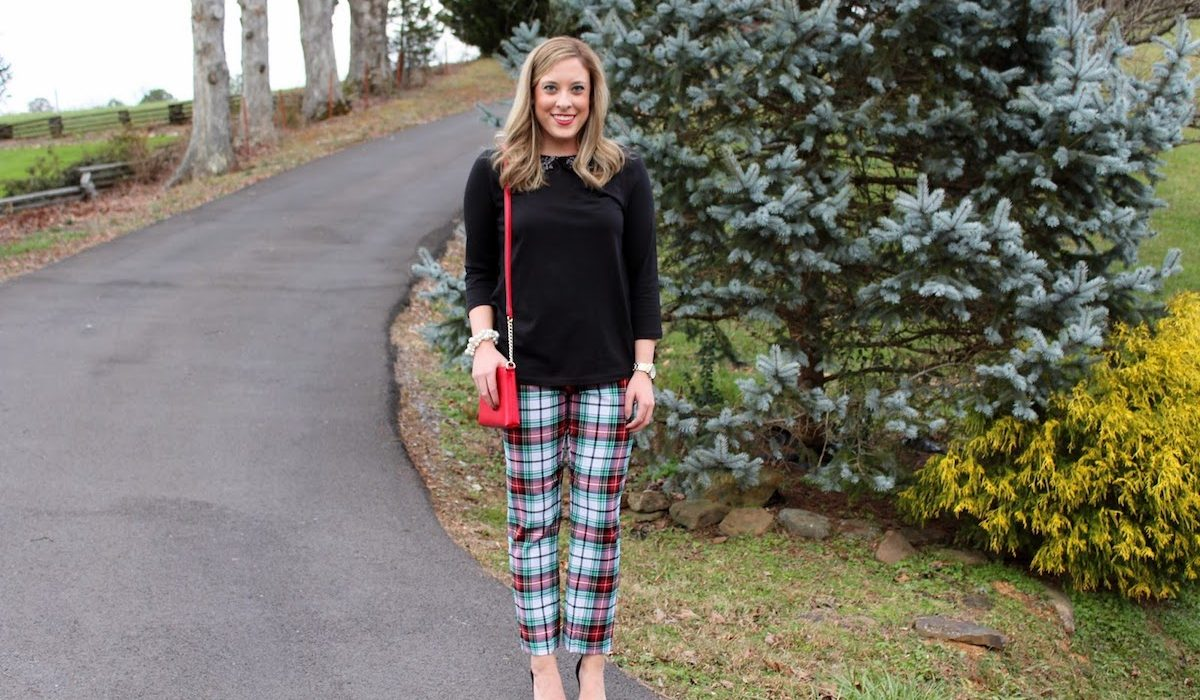 New fashion obsession – tartan trousers