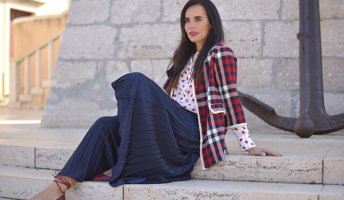 Style of the day: the tartan fever