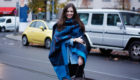 Style of the day: tulle and knitwear