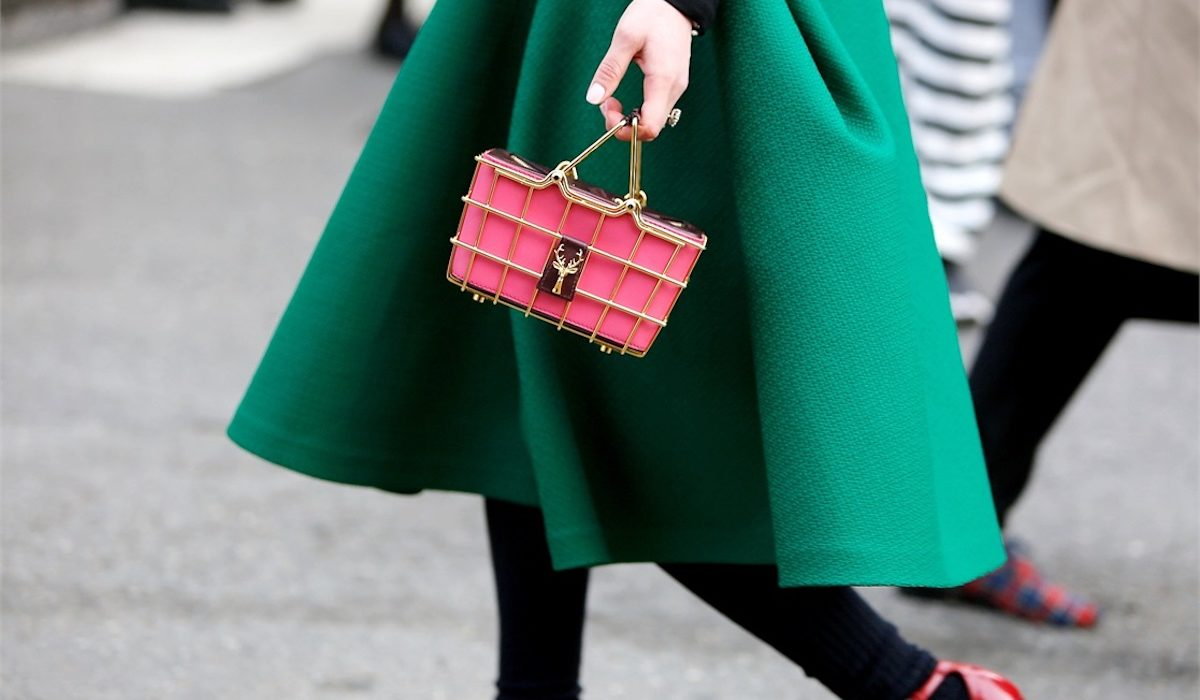 How to infuse your winter wardrobe with some green