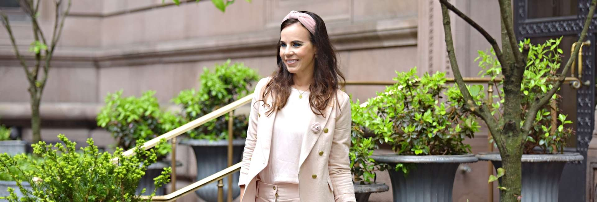 Style of the day: light pink