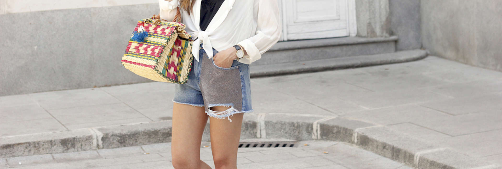 How to wear denim shorts this summer