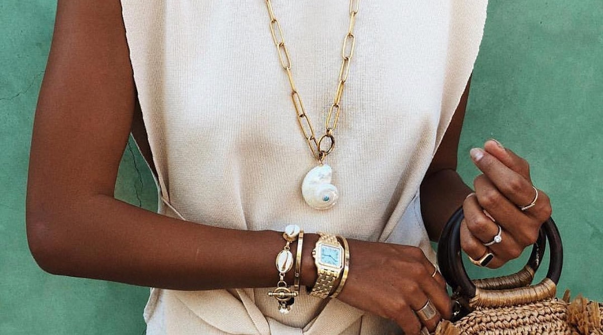 The shell jewelry trend