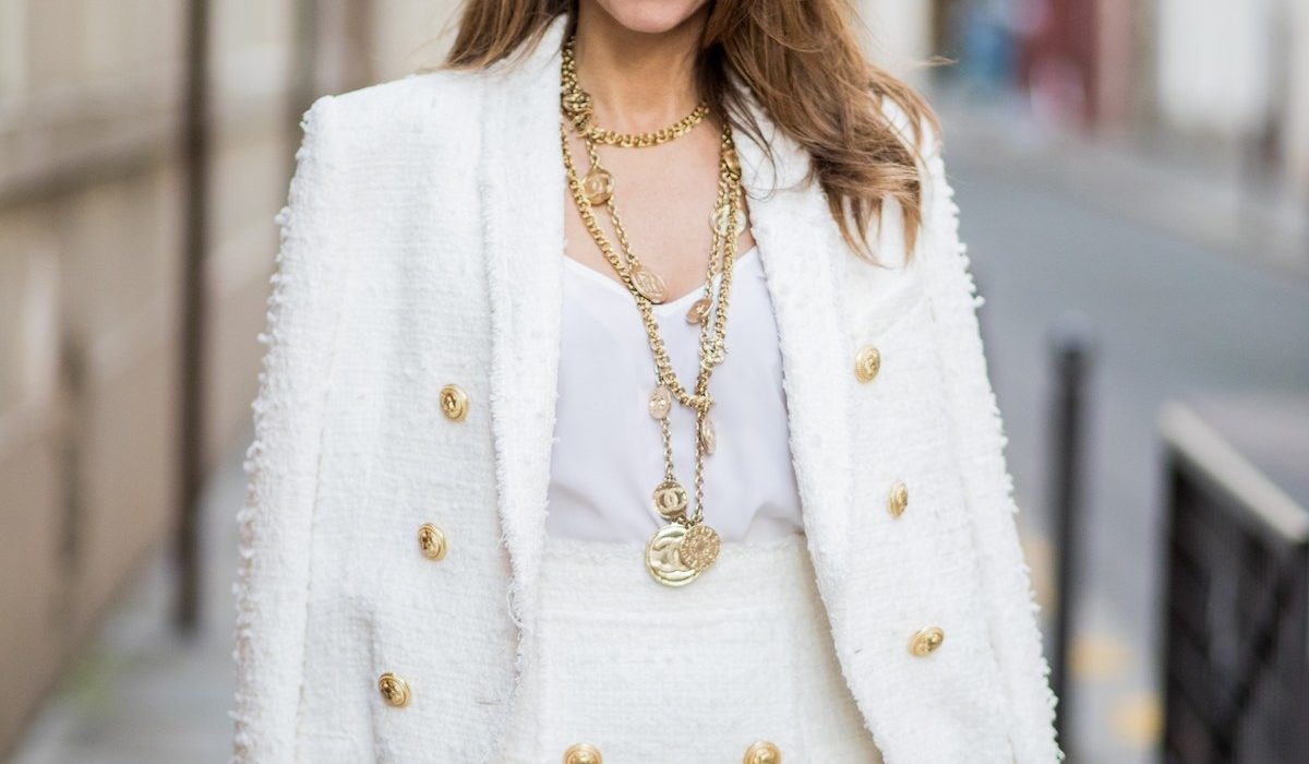 Layered necklace trend style