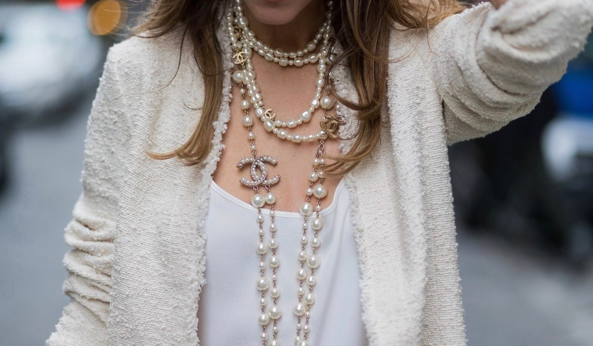 Never without pearls