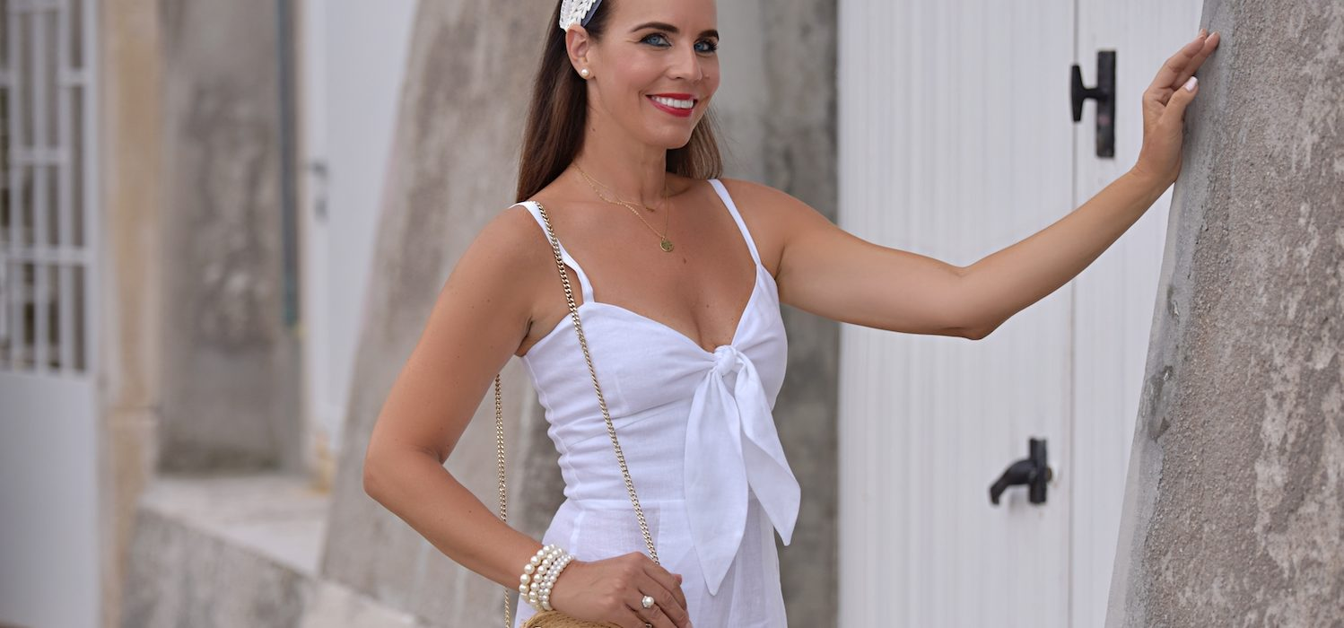 Style of the day: the white jumpsuit