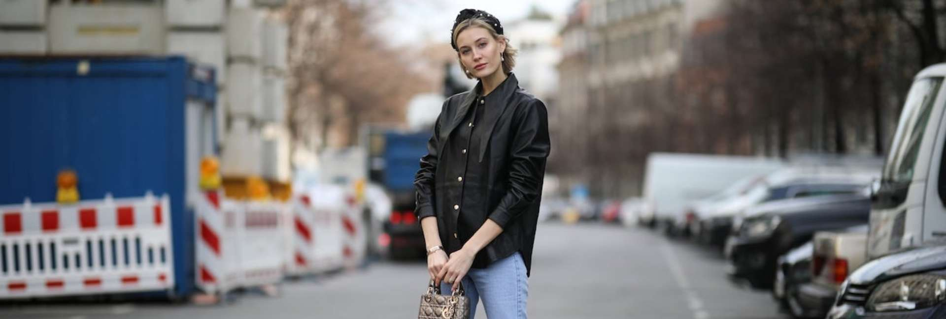 Street style stars and hair accessories