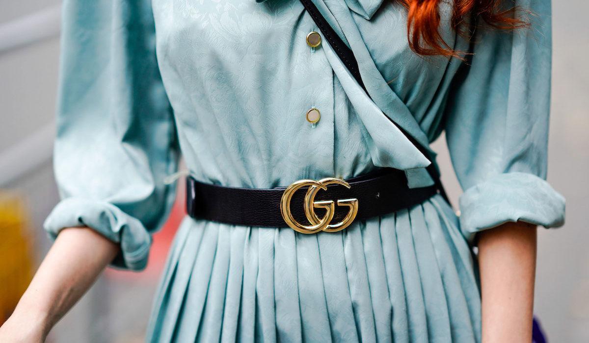 We still love the Gucci belt