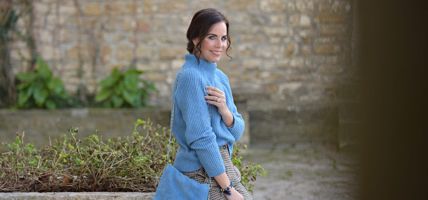 Style ot the day: my kind of classic blue