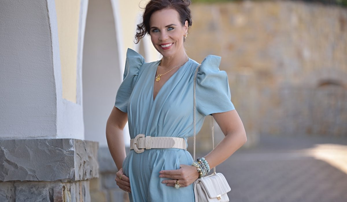 Style of the day: the turquoise jumpsuit