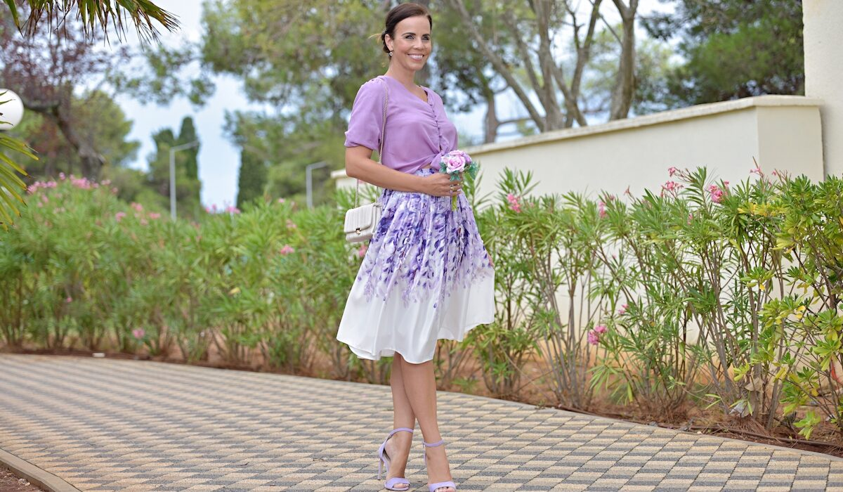 Style of the day: the lovely wisteria