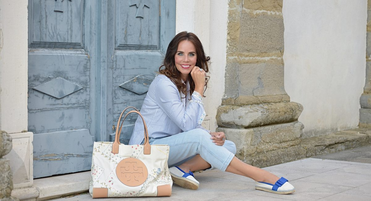 Style of the day: a bit of Tory Burch