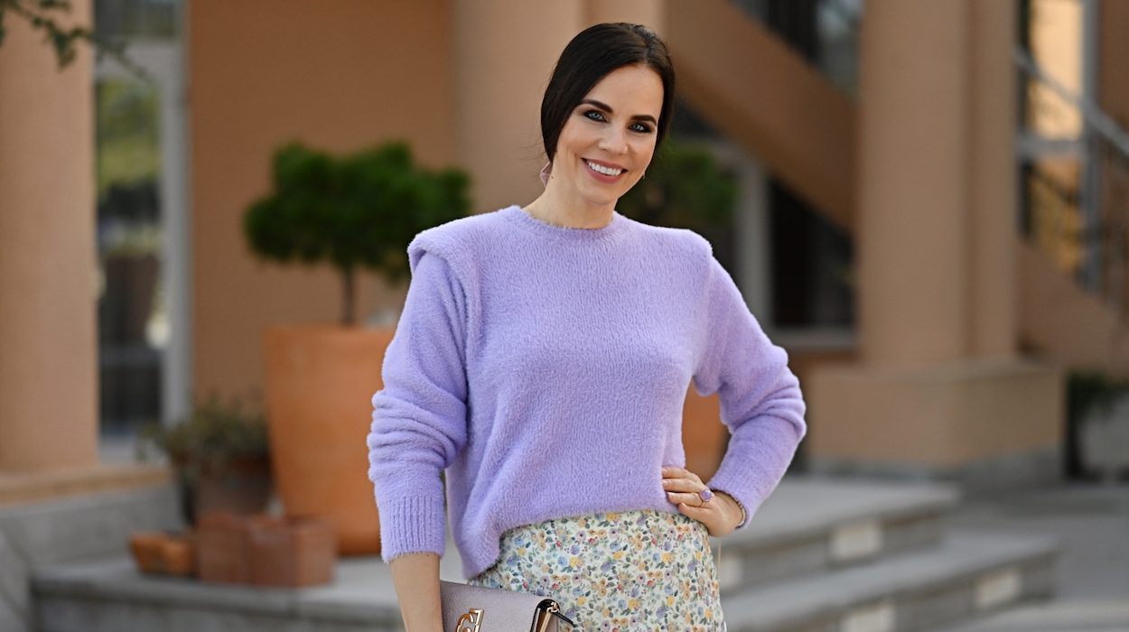 Style of the day: wisteria!