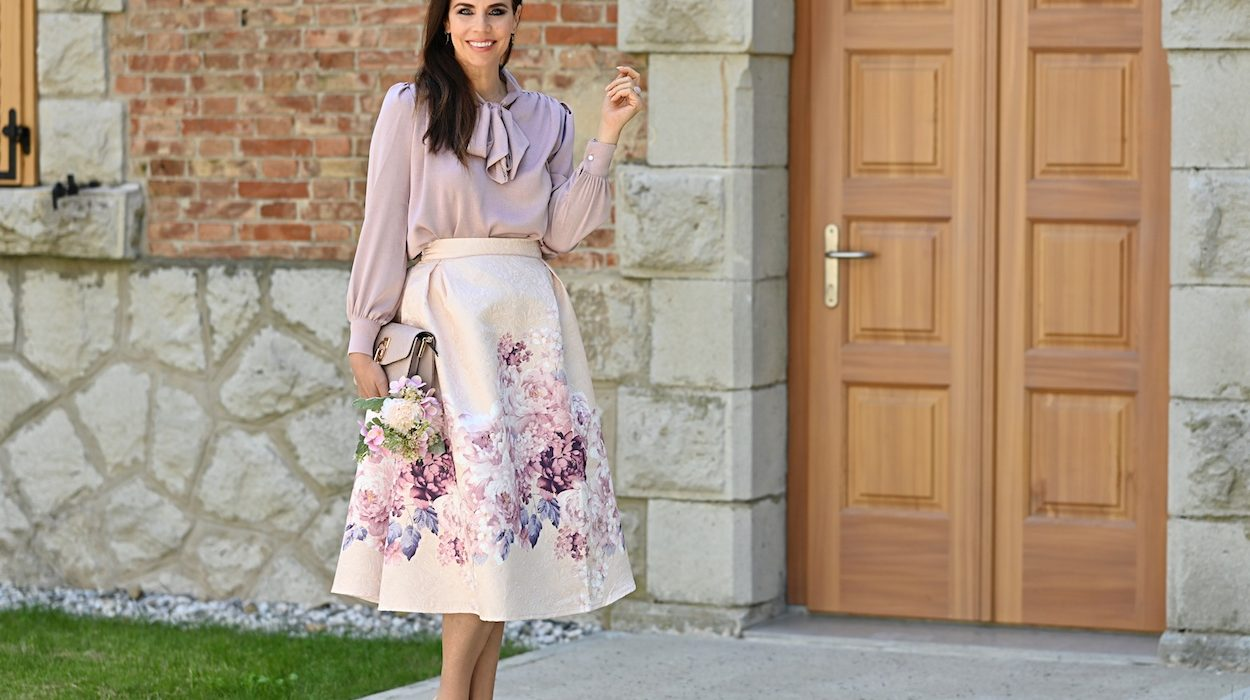 Style of the day: so romantic!