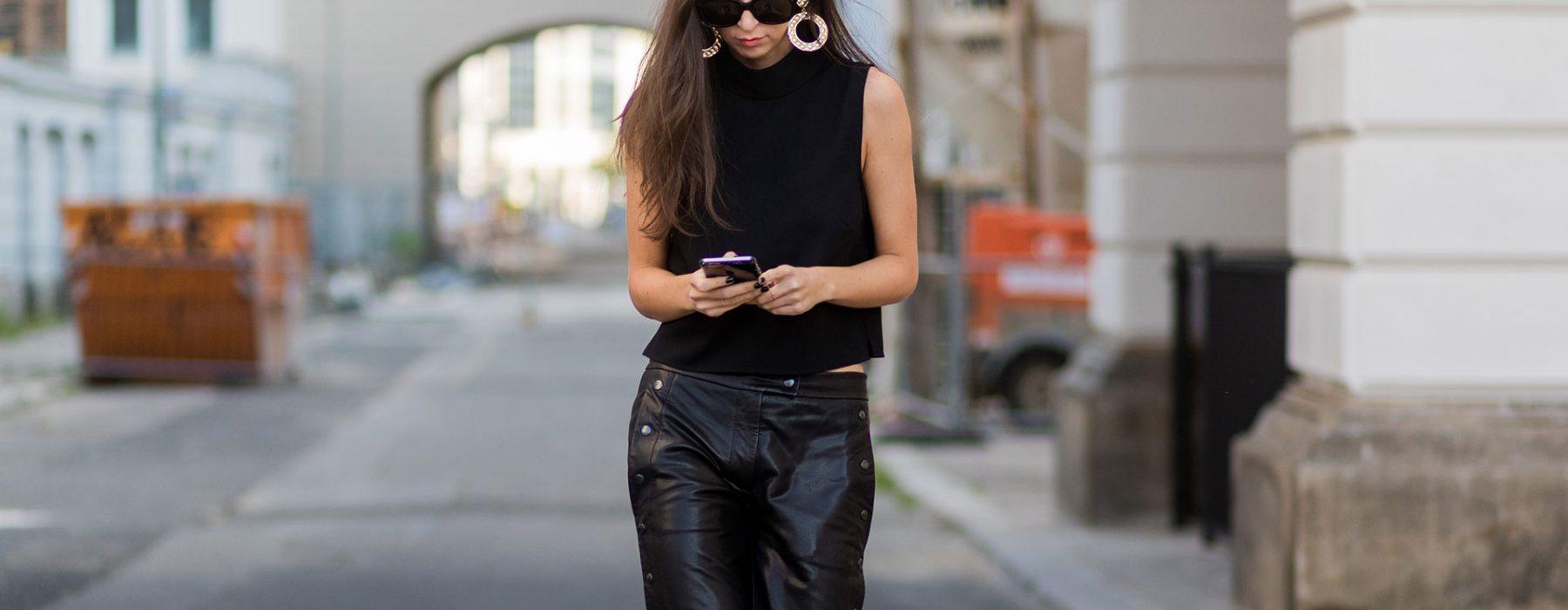 Wearing black in summer