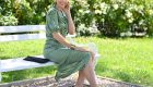 Shirred summer dresses – the hot trend