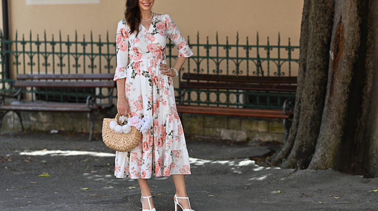 Style of the day: another floral dress