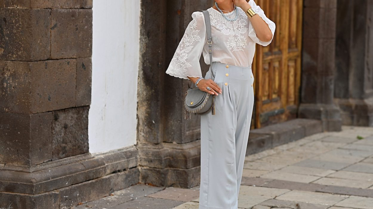 Style of the day: the elegant, high waisted pants