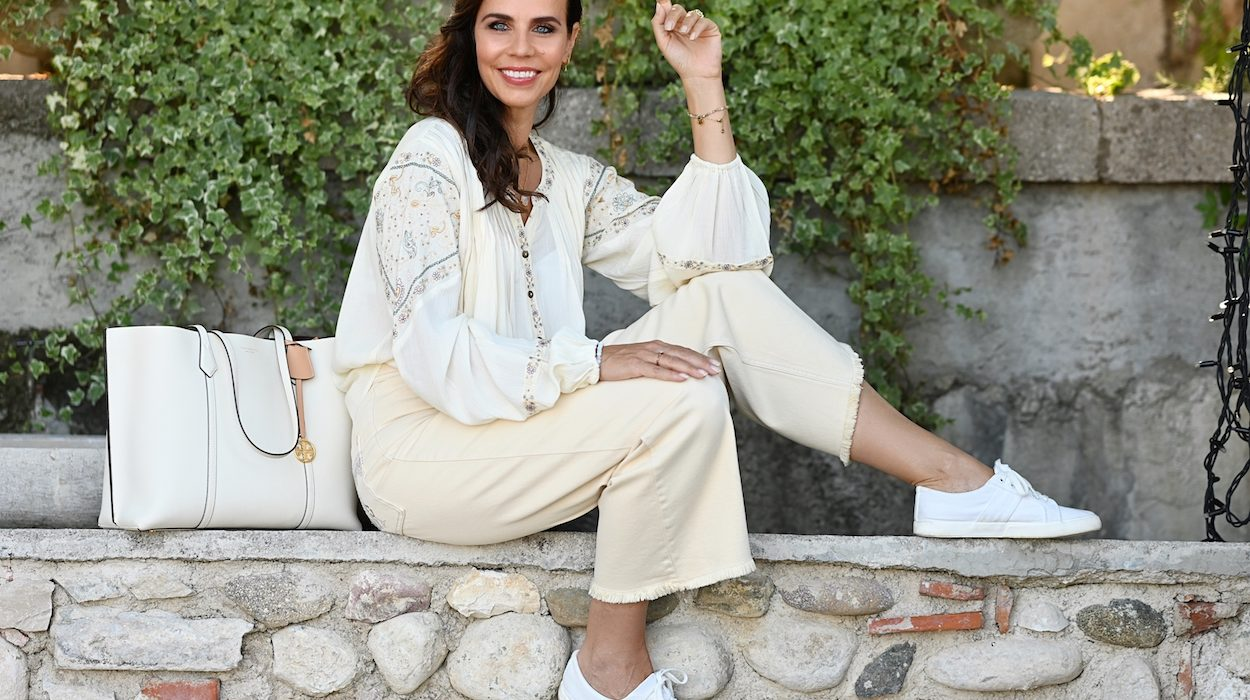 Style of the day: the bohemian blouse and pants